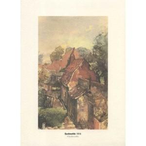 Reproductions d'aquarelles 1916 et 1917