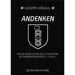 "Andenken : Par un ancien soldat de la 29e division de grenadiers Waffen-SS ""Italia"""